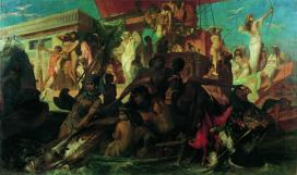 Hans Makart die Niljagd