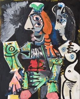 Pablo Picasso: Matador meztelen nővel 1970