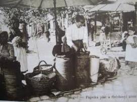 A Széchenyi téri őröttes piac