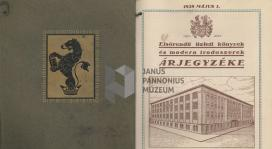 Irodaszerek katalógusa a XIX. század elejéről