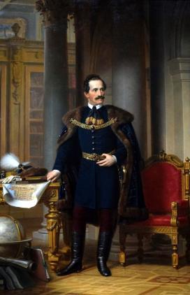 Barabás Miklós (1810-1898): Dessewffy Emil képmása. 1866