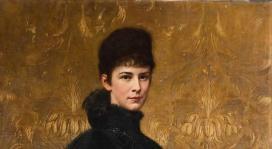 Benczúr Gyula: Erzsébet királyné