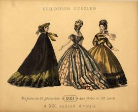 Geszler kollekció,1864-es viselet