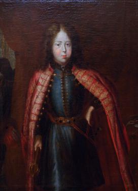 Gyermek portré, ismeretlen festőtől