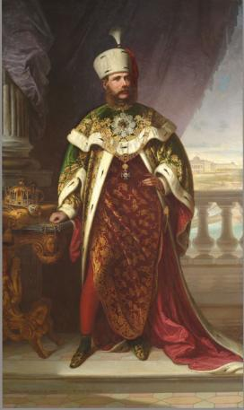 Heinrich Ede (1819-1885) I. Ferenc József képmása