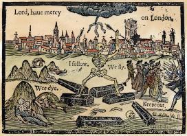 Jeremiah Taverner rajza a 17. században kitört londoni pestisről