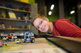 Lego-robot szakkör