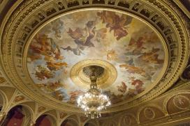 Lotz Károly: Az Operaház mennyezeti falfreskója