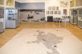 Nem térkép-e táj, részlet a kiállításból