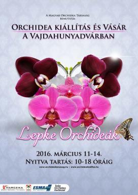 Tavaszi Orchidea Kiállítás, 2016, plakát
