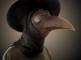 Korabeli védőfelszerelés: így nézett ki a pestisdoktor!