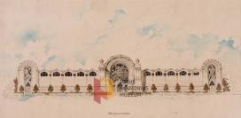 Mezőgazdasági Pavilon (Pilch Andor terve az 1907-es pécsi Országos Ipari és Mezőgazdasági Kiállításra)