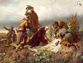 Székely Bertalan (1835-1910): II. Lajos tetemének feltalálása