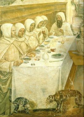 Szerzetesek asztalánál