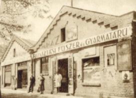 Állami lakótelep lőszergyári épület Walter áruház
