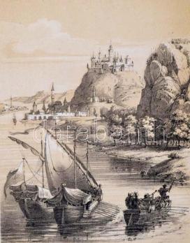 Johann Vinzenz Häufler-Szerelmey Miklós: Visegrád albuma, 1847