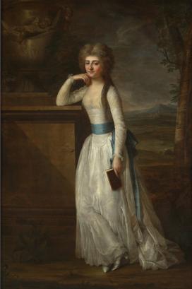 Georg Weikert (1749-1799): Károlyi Józsefné, Elisabeth Waldstein-Wartenberg. 1789
