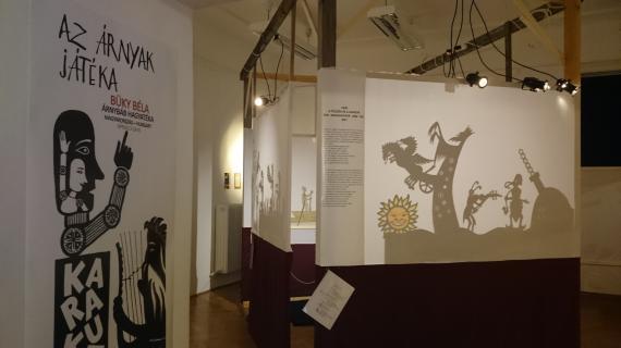 Az árnyak játéka című kiállítás részlete 2017-ből.