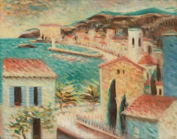 Martyn Ferenc (1899 –1986): Collioure, 1929