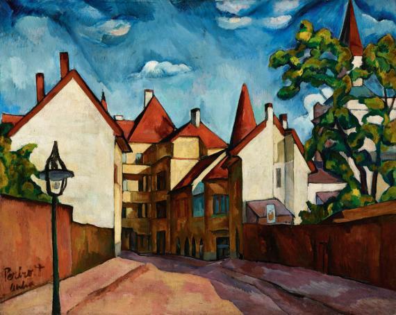 Perlrott Csaba Vilmos (1880-1955) festőművész