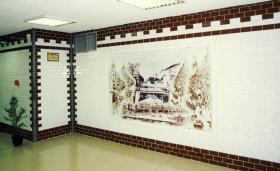 Museum entrance hall