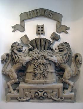 Coat of Arms Carved of Stone
