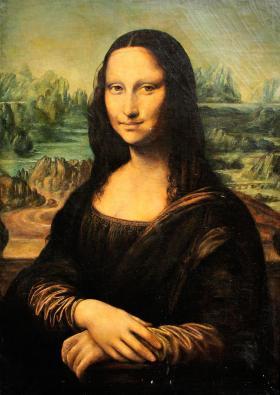 Hamza D. Ákos: Mona Lisa - Leonardo da Vinci után
