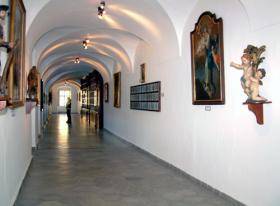 Inside the museum