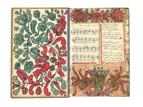 Kézírásos daloskönyv