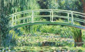 Claude Monet: Fehér vízililiomok (1899)