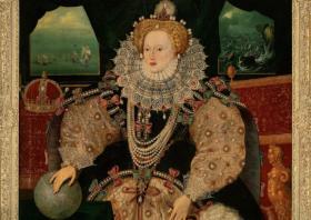 I. Erzsébet portréja