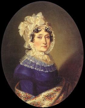 Johann Nepomuk Ender (1793-1854): Festetics Julianna, 1817