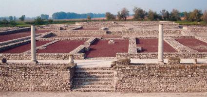 A táci régészeti park