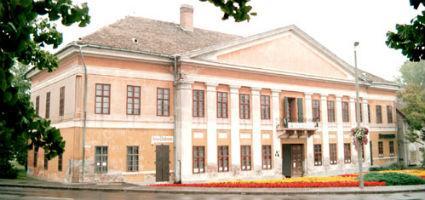 A képtár épülete
