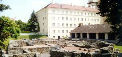 A romkert részlete
