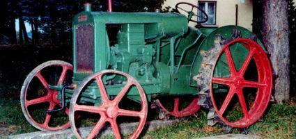 RÁBA mindenes benzin-üzemű traktor 1930-ból