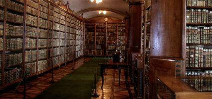 The archdeocesean library of Kalocsa