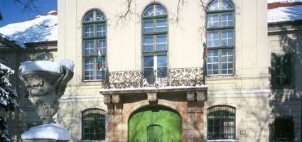 A kastély bejárata