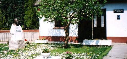 A múzeum épülete és kertje