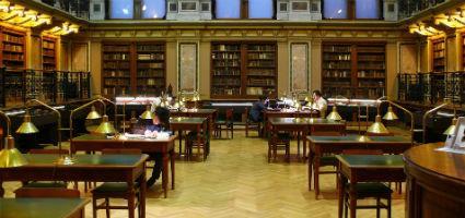 ELTE Egyetemi Könyvtár, NagyOlvasóterem, Budapest