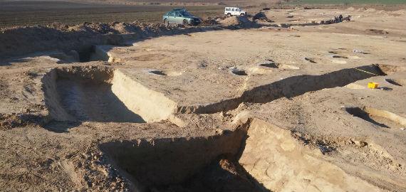 Régészeti ásatás az északi elkerülő út folytatásának nyomvonalán
