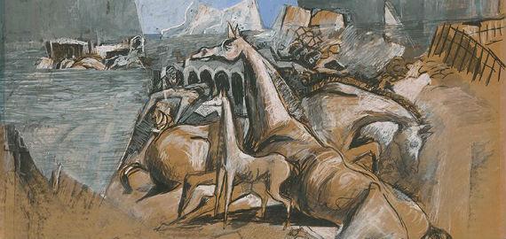 Koloman Sokol festménye