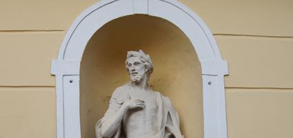Szent Donát szobra,Kőszeg,Rajnis 12