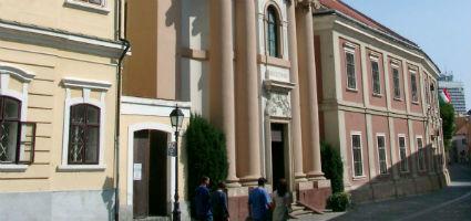 Szent Imre Piarista- és Helyőrségi-templom, Veszprém