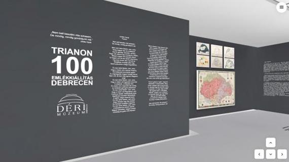 Trianon 100 emlékkiállítás