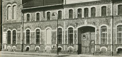 Az Unicum gyárépülete