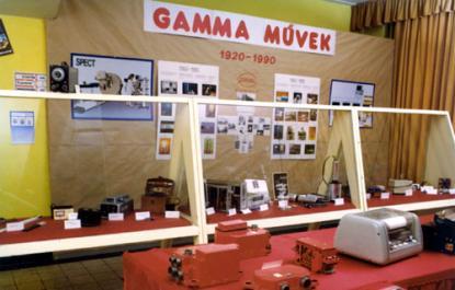 A fénykép a 70 éves jubileumi kiállításról készült.