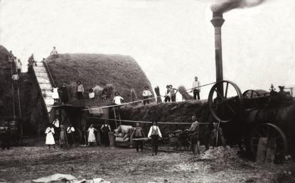 Cséplés: Kiskunhalas, 1910-es évek