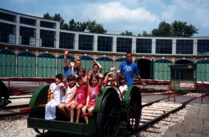 Rail-car Riding