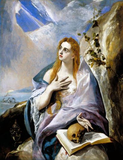 El Greco: Bűnbánó Magdolna